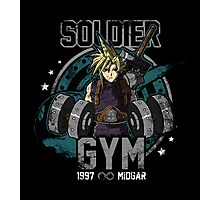 Soldier Gym Photographic Print