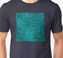 Mermaid Scales - Turquoise Unisex T-Shirt