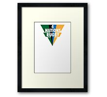 4 Nations Rugby Framed Print