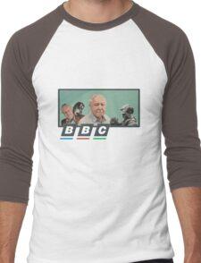 I love Sir David Attenborough Men's Baseball ¾ T-Shirt