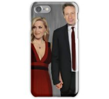 Gillian Anderson and David Duchovny attend Emmy Awards 2017 iPhone Case/Skin