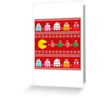 Merry Geeky Christmas (Red)  Greeting Card