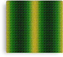 Green Dragon Scale Canvas Print