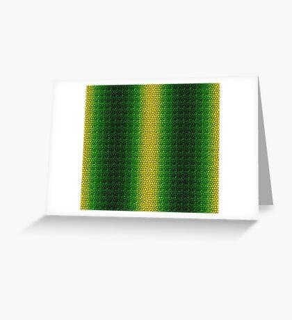 Green Dragon Scale Greeting Card