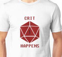 CRIT Happens (Red) Unisex T-Shirt