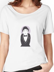 Smart Tuxedo Stacking Doll Women's Relaxed Fit T-Shirt