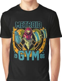 Metroid Gym Graphic T-Shirt
