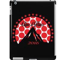 Alpe d'Huez 2016 (Red Polka Dot) iPad Case/Skin