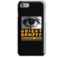 Blade Runner Voight Kampff Empathy Test iPhone Case/Skin