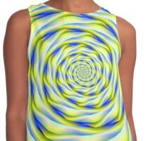 Vortex in Blue and Yellow Contrast Tank
