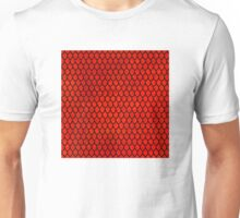 Mermaid Scales - Red Unisex T-Shirt