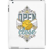 I Open At The Close iPad Case/Skin