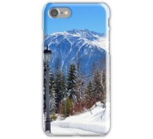 View at Stubai Alps Range, Tyrol, Austria iPhone Case/Skin