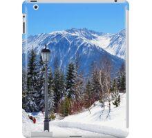 View at Stubai Alps Range, Tyrol, Austria iPad Case/Skin