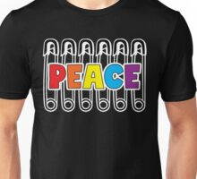 Safety Pin For Peace Unisex T-Shirt