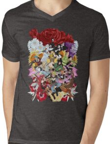 Colorful Mens V-Neck T-Shirt