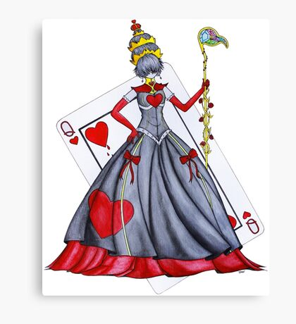 Queen of Heart Canvas Print
