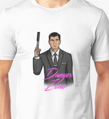 Archer Danger Zone Unisex T-Shirt