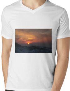 When The Sun Goes Down Mens V-Neck T-Shirt