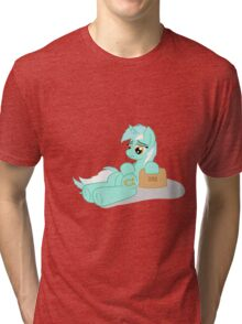 Exhausted Lyra Tri-blend T-Shirt