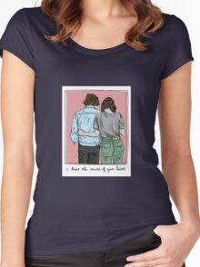I know the sound of your Heart Women's Fitted Scoop T-Shirt
