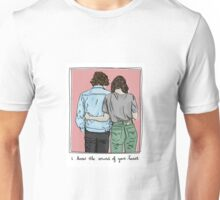 I know the sound of your Heart Unisex T-Shirt