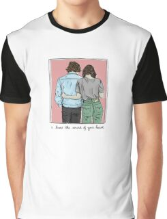 I know the sound of your Heart Graphic T-Shirt