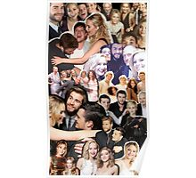 Cast Collage: The Hunger Games Poster