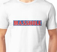 Red Sox Masshole Red / White / Navy Blue Unisex T-Shirt