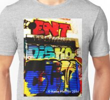 Graffiti Wall Disko Butt  West Philly 2014 Unisex T-Shirt