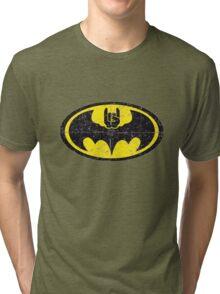 Batmetal Tri-blend T-Shirt