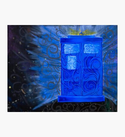 Wibbley Wobbley Time Travel Photographic Print