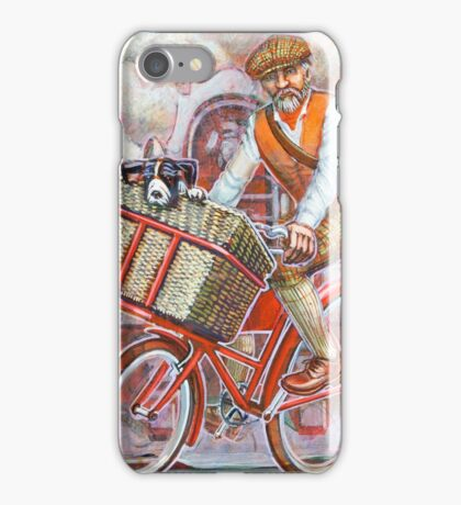 Tweed Runner on Red Pashley iPhone Case/Skin