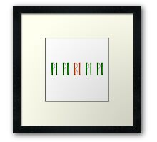 Pi Pi Ri Pi Pi Framed Print