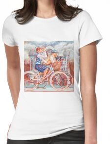 Tweed Runners on Pashleys Womens Fitted T-Shirt