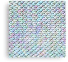 Mermaid Scales - Shiny Light Canvas Print