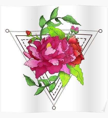 Flower Zen Poster