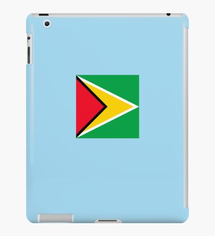 Guyana Flag Square iPad Case/Skin
