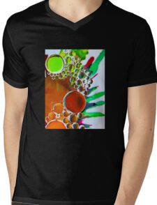 Bubbles and Ink #2 Mens V-Neck T-Shirt