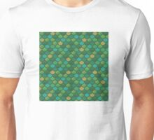 Mermaid Scales - Greens Unisex T-Shirt