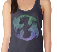 Swim Free Whale and Dolphin Women's Tank Top