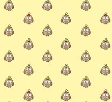 Funny Owl Pattern by trapezoid