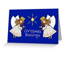 Christmas Blessings Greeting Card