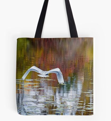 Watercolor Reflections Tote Bag