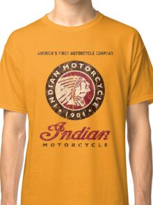 Indian Motorcycle Company retro vintage logo Classic T-Shirt