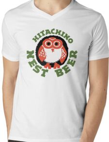 Hitachino Nest Beer Japanese Mens V-Neck T-Shirt