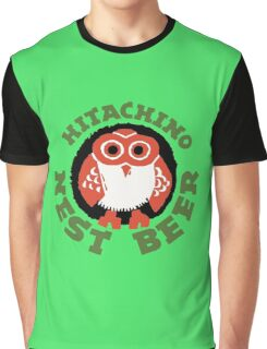 Hitachino Nest Beer Japanese Graphic T-Shirt