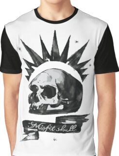 Misfit Skull - Chloe Price Graphic T-Shirt