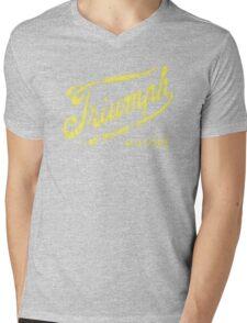 Triumph retro vintage logo Mens V-Neck T-Shirt