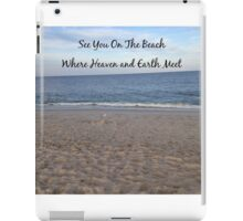 See You On The Beach iPad Case/Skin